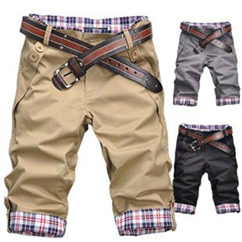 (NAIL39) ゴルフウエア メンズ レディース ハーフパンツ ショートパンツ ショーパン 半ズボン メンズ 短パン デニム カジュアル おしゃれ 綺麗 チェック アメカジ