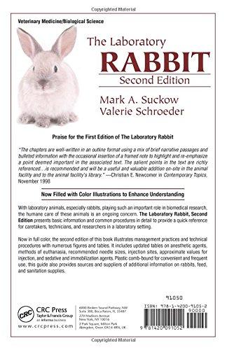 The Laboratory Rabbit, Second Edition (Laboratory Animal Pocket Reference) (Volume 9)