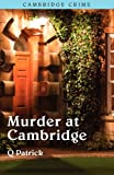 Murder at Cambridge, Q. Patrick, 1906288747