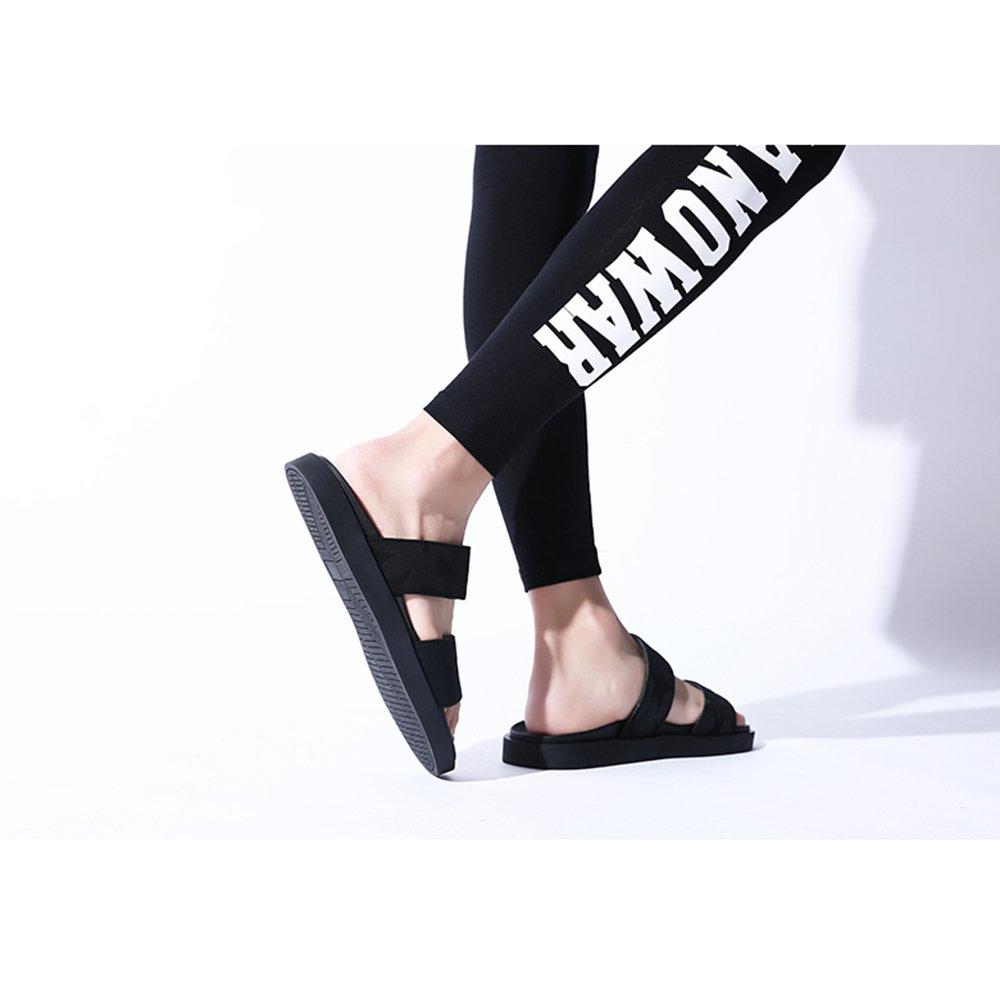 YQQ Hausschuhe Strandschuhe Trend Herrenschuhe Sandalen Im Freien Mode Lässige Schuhe Ferienschuhe Persönlichkeit Mode Freien Rutschfest Sommer- Gemütlich Atmungsaktiv (Farbe : 2, Größe : EU39/UK6.5) 1 57d6cd