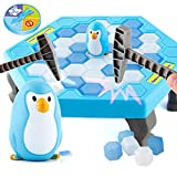 WTOR Break The Ice Save Penguins 2017 Newest Crash Ice Game Mini Table Games/Puzzle Table Games/Balance Games/Ice Breaker Save Penguin Family Fun Game for The Whole Family