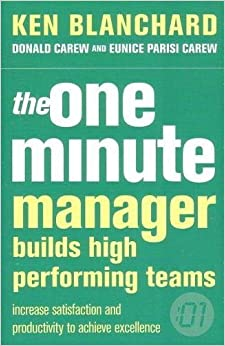 Book One Minute Manager Builds High Performing Teams by Kenneth H. Blanchard (2004-12-03)