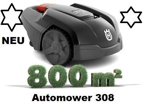 Husqvarna Automower 308 (granitgrau)