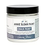 CHALK PAINT (R) by Annie Sloan – Decorative paint for furniture, cabinets, floors, home decor, and accessories – Water-based – Non-toxic – Matte finish (Project Pot - 4oz, Old White)