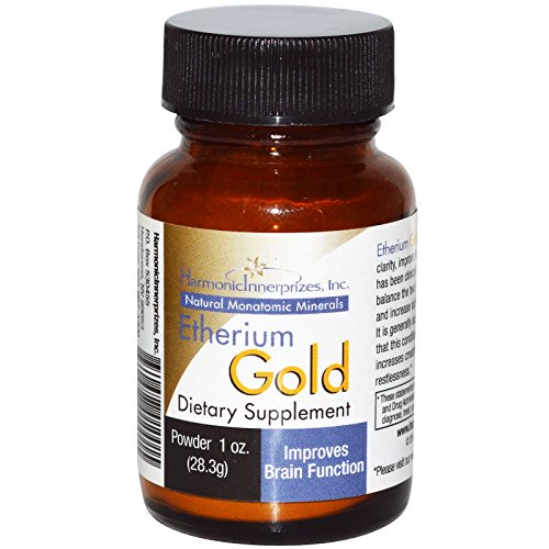 Harmonic Innerprizes, Etherium Gold, Powder, 1 oz (28.3 g) - (Etherium Gold Powder)