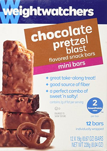 Weight Watchers Chocolate Pretzel Blast Mini Bar PointsPlus