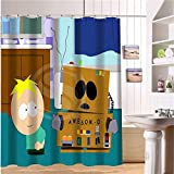 Blingyou Custom South Park Fabric Modern Shower Curtain Bathroom Waterproof N6 66