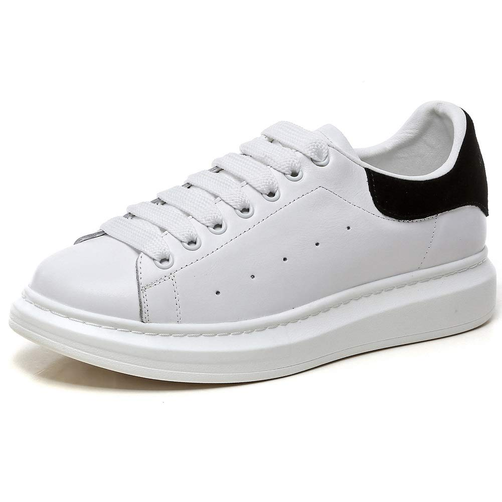 Acquista YORWOR Basket Classic Sneaker Scarpe da Ginnastica Basse Unisex – Adulto Bianco miglior prezzo offerta