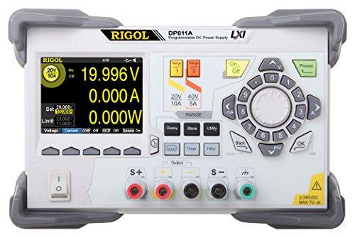 Rigol DP811A Dual Range 200 W Single Output Power Supply by Rigol