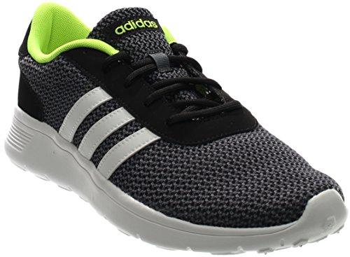 Adidas Neo Men's Lite Racer Lifestyle Runner Sneaker,Black/White,8 M US For Sale