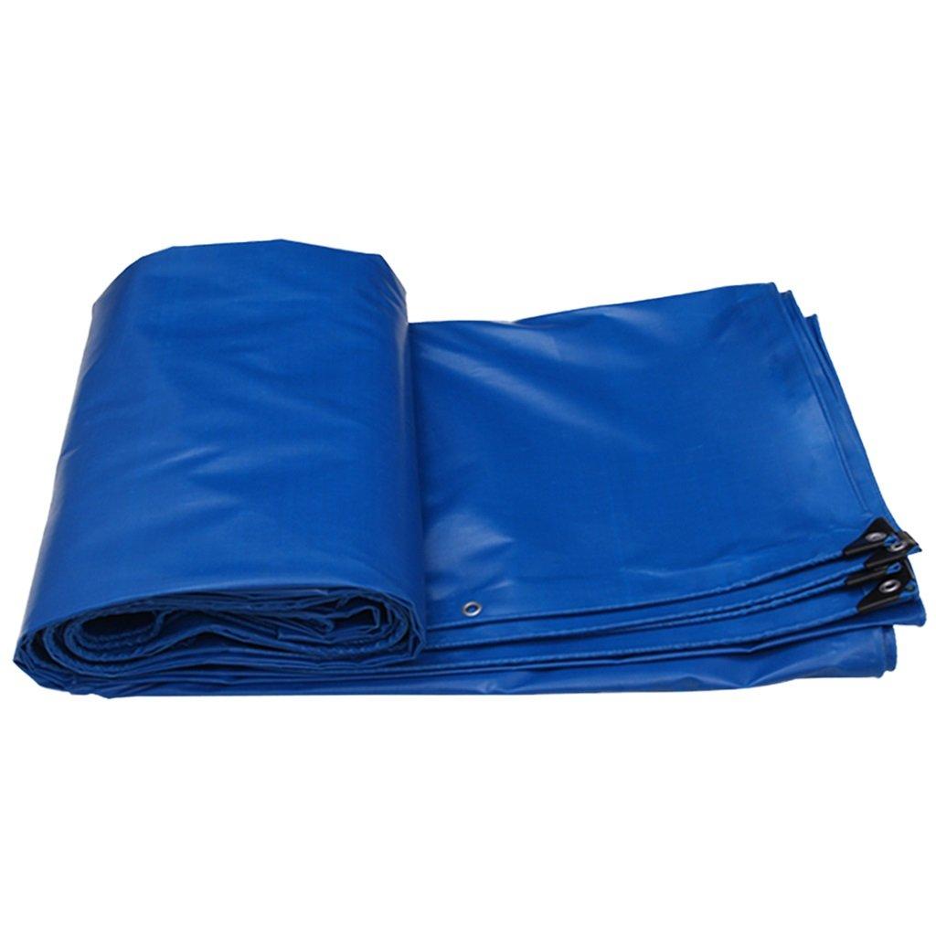 青い雨のジャケットは陽布、プールマットのカバー花園防雨カバー、テント布防水カバー、パラソル (サイズ さいず : 4MX3M/13FTX10FT) B07FYYCRY5 4MX3M/13FTX10FT  4MX3M/13FTX10FT