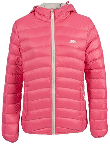 Adored Blush Jacket Women's Trespass Coral Down Hooded Padded FPxCwpqS