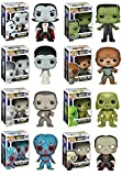 Complete Set of 8 Universal Monsters Pop! Figures: Dracula, Frankenstein & His Bride, Wolfman, Mummy, Creature from the Black Lagoon, Phantom of the Opera & Metaluna Mutant