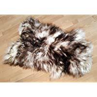 World of Leather Biggest | Soft and Silky | Icelandic Sheepskin Rug | (Dyed L 48)