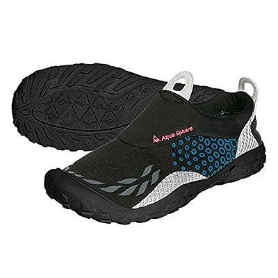 Aqua Sphere Sporter Chaussures de l'eau–Noir/Bleu