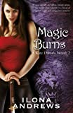 Front cover for the book Magic Burns by Ilona Andrews