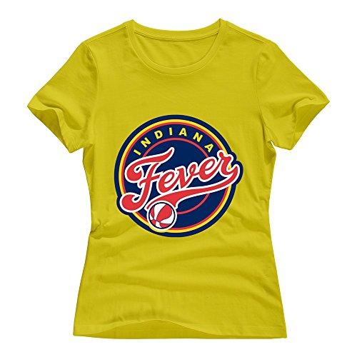 Ptshirt.com-19339-VAVD Lady\'s Indiana Fever 100% Cotton T Shirt-B019091BJK-T Shirt Design