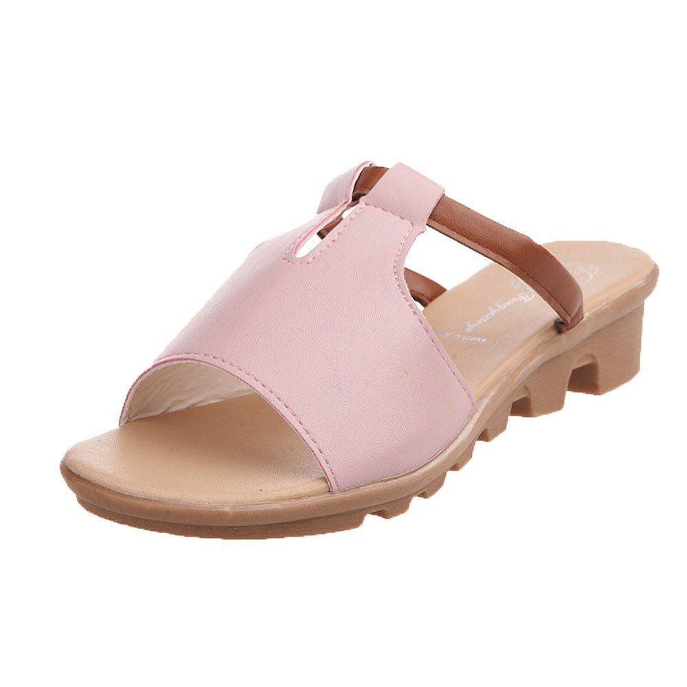 Nevera Womens Summer Wedges Platform Shoes Fashion Leisure Sandals Thick Bottom Outdoor Slippers
