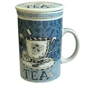 La Tisanière con colador para infusiones cerámica, 1-Tea