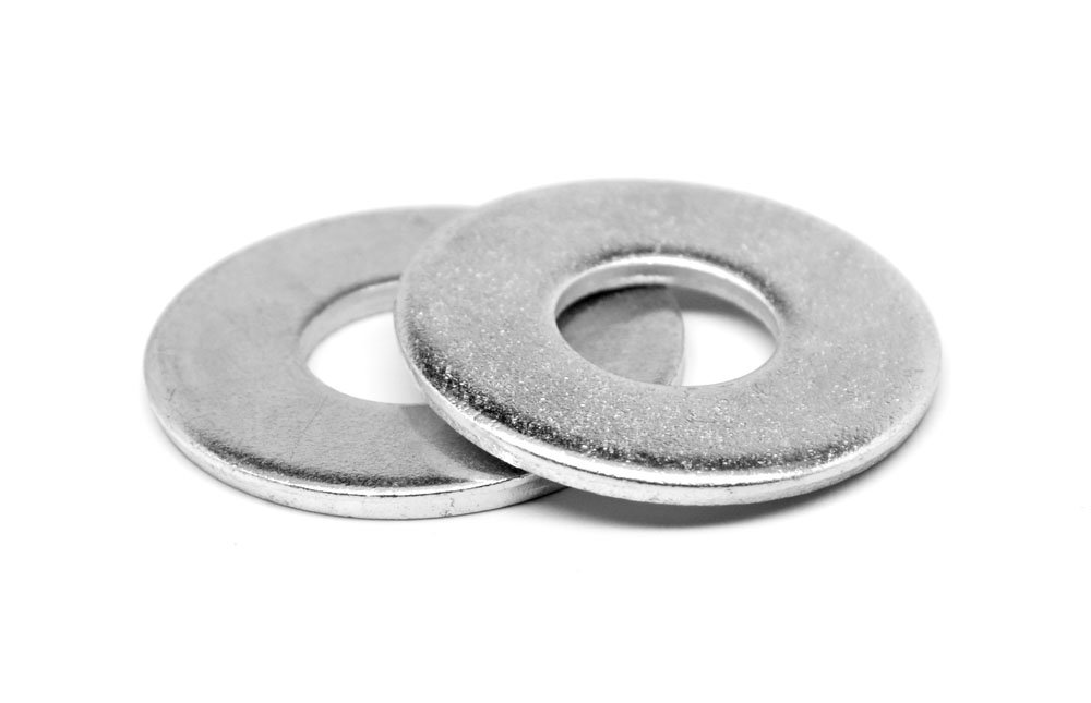 3/4'' x 3'' x 1/4'' Round Plate Washer Low Carbon Steel Hot Dip Galvanized Pk 125