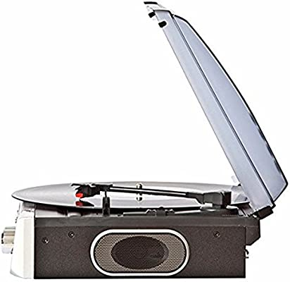 Lauson CL144 Tocadiscos Bluetooth Estéreo 2 velocidades (33/45 RPM ...