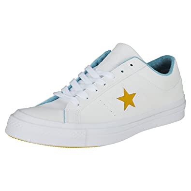 e5dcc8e614f Converse One Star Ox Mens Trainers  Amazon.co.uk  Shoes   Bags