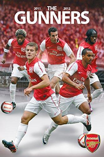 England Arsenal English Football Club Players (The Gunners) Sports Fan Soccer Poster Print 24x36 (English Premier League Best Goals)