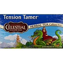 Celestial Seasonings Tension Tamer Natural Herbal Tea 20 each