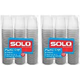 Solo 3-Ounce Plastic Bathroom Cups, 300-Count Package