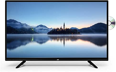 JVC 40 inches FHD LED Television with DVD (Renewed)