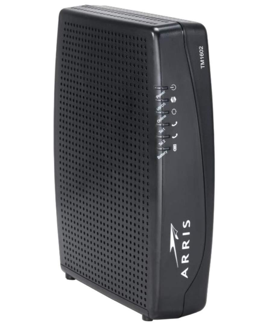 Arris Touchstone TM1602A DOCSIS 3 0 Upgradeable 16x4 Telephony Modem for  TWC & OPTIMUM