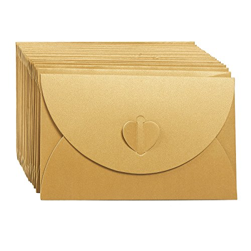 Gift Envelopes - 24 Pack Colorful Craft