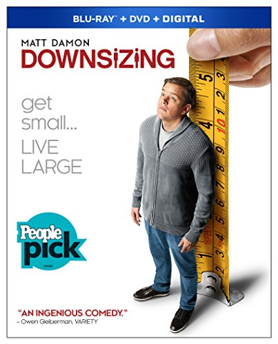 Blu-ray : Downsizing (With DVD, Subtitled, Dubbed, Widescreen, Digital Theater System)