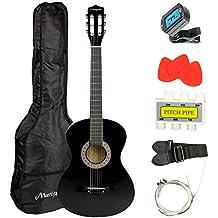 Martin Smith W-38-BK Acoustic Guitar Pack, Black