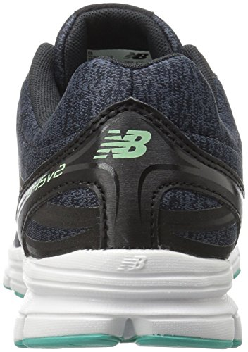 New Balance Women's W645V2 Running Shoe Black/Seafoam official cheap online qxHdF