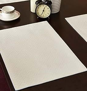 JY$ZB salvamanteles botón de alimento aislamiento almohadilla de tela de montaña de café occidentales de lujo Conveniente para el hotel casa partido restaurante , white