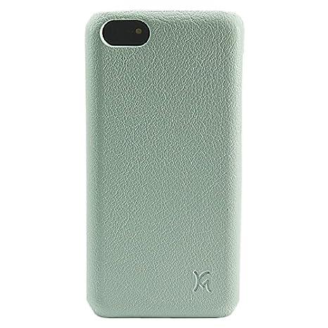 KM Accesorios - Carcasa trasera de Piel/ABS para iPhone 5/5s ...