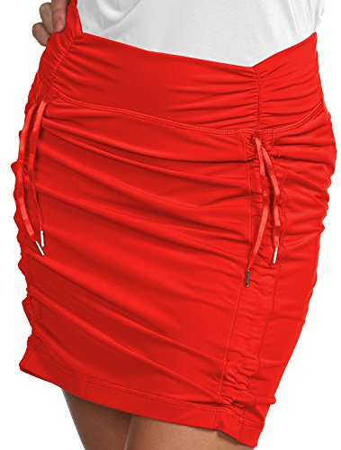 Antigua Ladies Cinch Skort Cajun Red 8-10 Medium ()