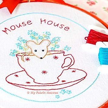 mouse-house Stickrahmen Art Schnittmuster mit Foto Tutorial ...