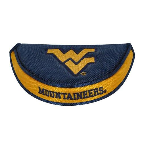 College Golf Putter (Team Effort West Virginia Mountaineers Mallet Putter Cover)