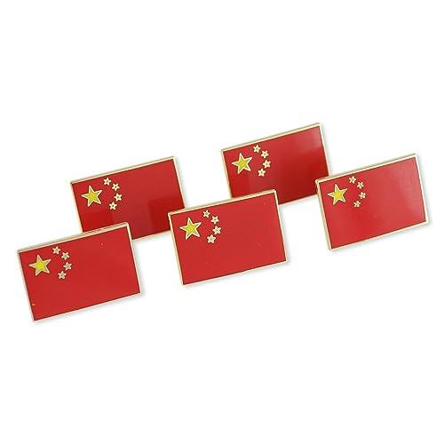 Amazon.com: República de bandera de China Chino Esmalte Pin ...
