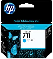 HP HEWCZ130A 711 Cyan Ink Cartridge, Cyan by SP Richards HI