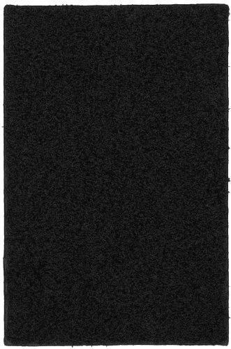 Garland Rug Southpointe Shag Area Rug, 3-Feet by 5-Feet, Black by Garland Rug (Image #4)