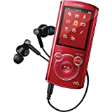 Sony NWZE463 4 GB Walkman MP3 Video Player (Red) (Discontinued by Manufacturer)