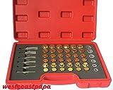 114PC Oil Pan Drain Sump Plug Key Thread Repair Tool Kit