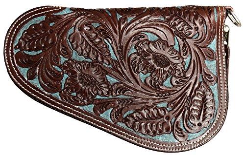 Ranger Belt Turquoise & Brown Floral Gun Case (GC04BT)