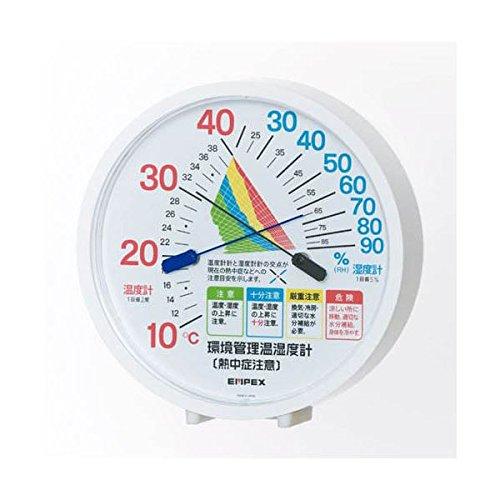 (まとめ)EMPEX 温度 湿度計 環境管理 温度 湿度計「熱中症注意」 置き掛け兼用 TM-2484【×3セット】 家電 生活家電 その他の生活家電 top1-ds-1762744-ak [簡易パッケージ品] B06XZL93VN