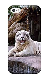 Case Cover White Tiger/ Fashionable Case For Iphone 5/5s