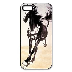 Customize The Horse Unique Durable Back Cover Case for iPhone 5 5s wangjiang maoyi