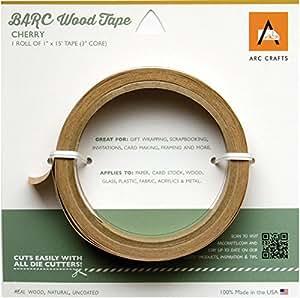 Barc Wood Adhesive Tape 1x15'-Cherry